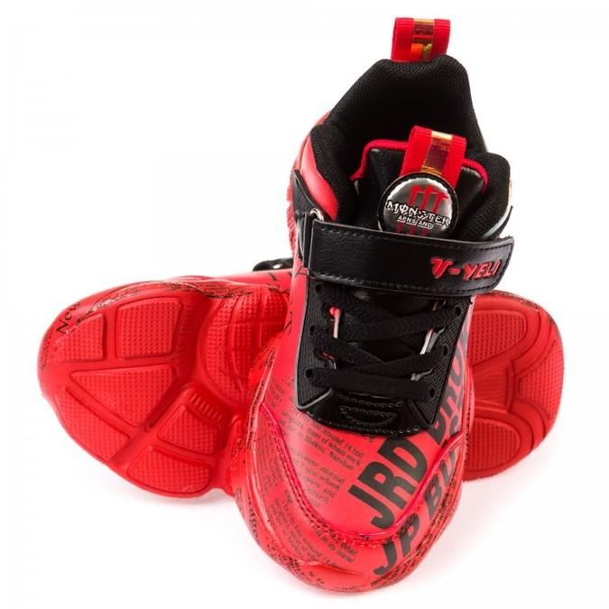Кроссовки 81041 красные (31-37) KT