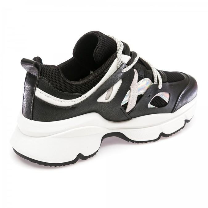 Кроссовки Fashion A06-1(36-41) черные