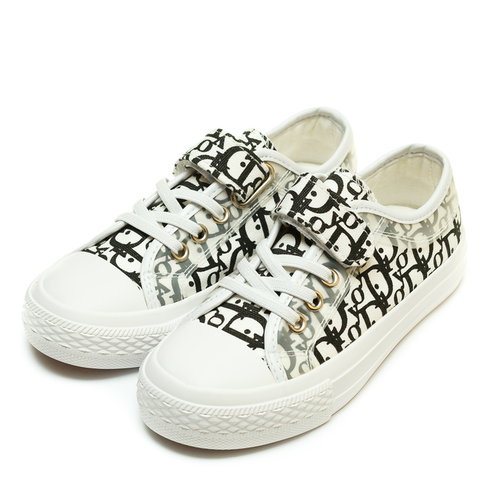 Кеды Fashion S-210(24-30) буквы бел/черн
