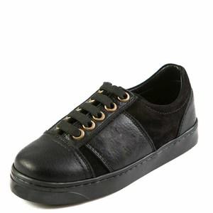 Кроссовки T338(76-19)B чёрные (26-31)