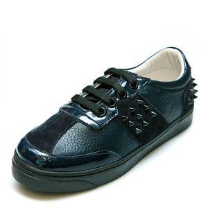 Кроссовки T366(81-120-78)PP шипы синие (26-31)
