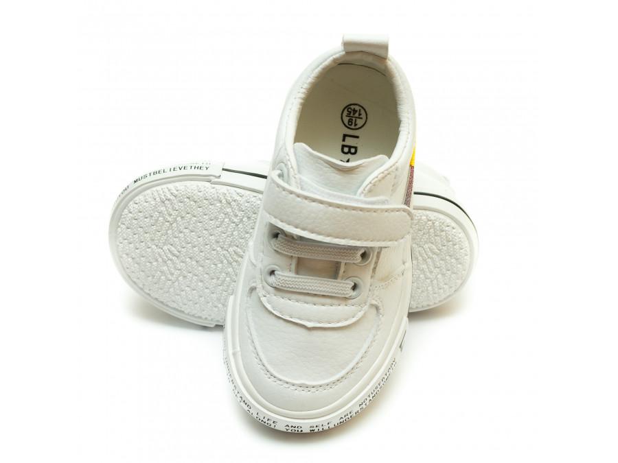Кеды Fashion Y-501(18-23)белые