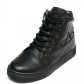 Ботинки зима AlilA Z343SR шнурок черные (31-36)