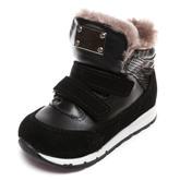 Ботинки зима Z347D (22-25) чер 2 лип