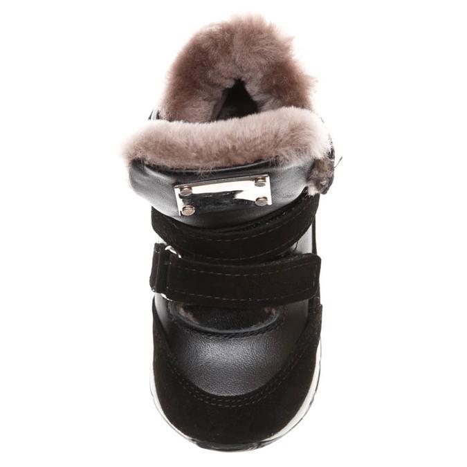Ботинки зима Z347D (26-30) чер 2 лип