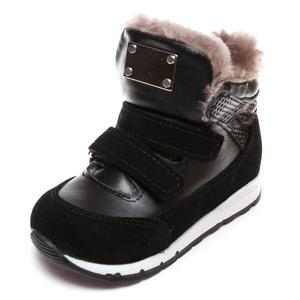 Ботинки зима Z347DG(22-25) чер 2 лип