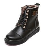 Ботинки зима Z348D черные шнурок(31-36)