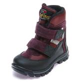 Термо ботинки зима 329(616) сир/борд (26-30)