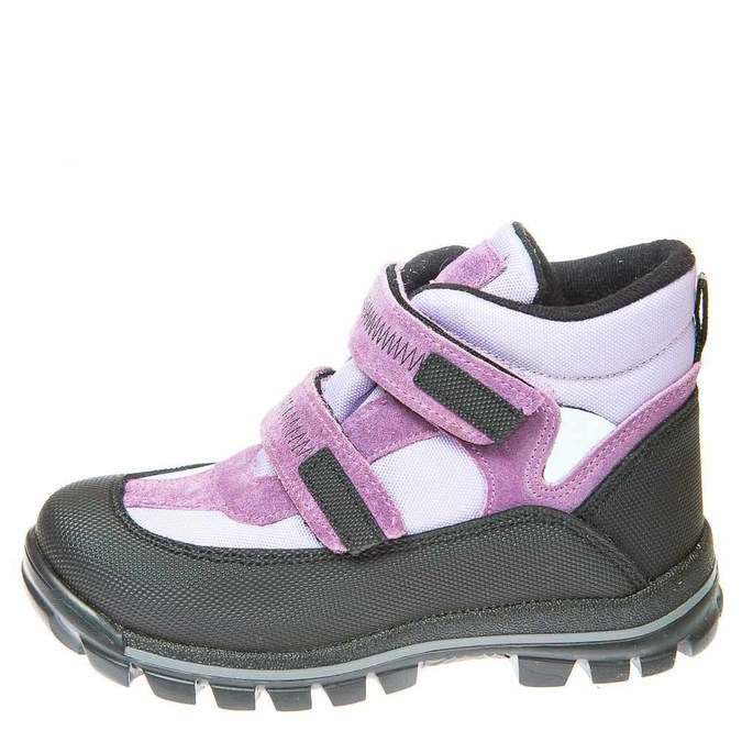 Ботинки зима 330(314) сиреневые