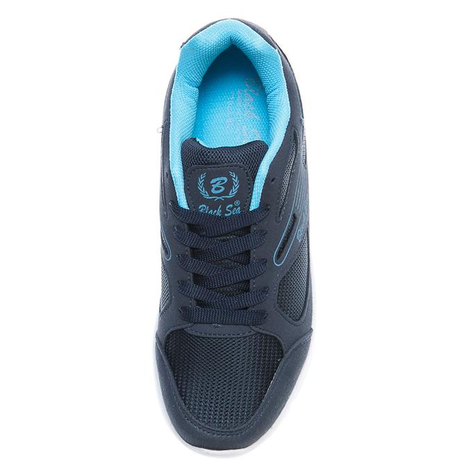 Кроссовки 524(36-40) синие