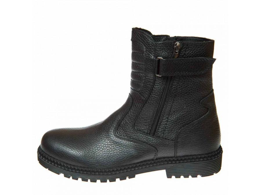 Ботинки зима 93(26) чёрные (26-30)