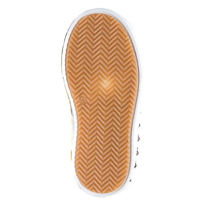 Кроссовки T371(7) шипы жёлтые (21-25)
