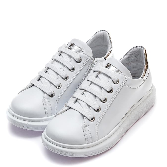 Кроссовки 10520(32)(31-36)белые