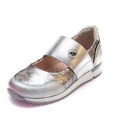 Туфли 19910(31)(27-30)серебро резинка