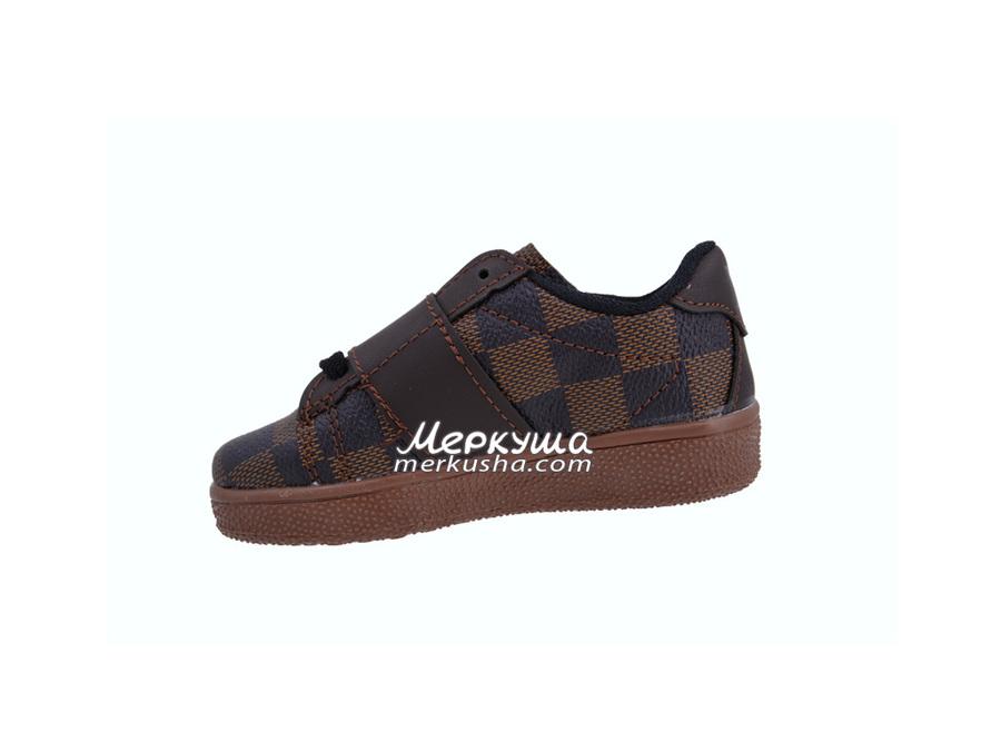 Кроссовки Louis Vuitton DSC0358, коричневый