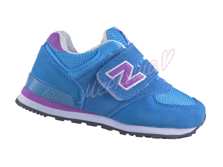 Кроссовки New-balance 574, голубой