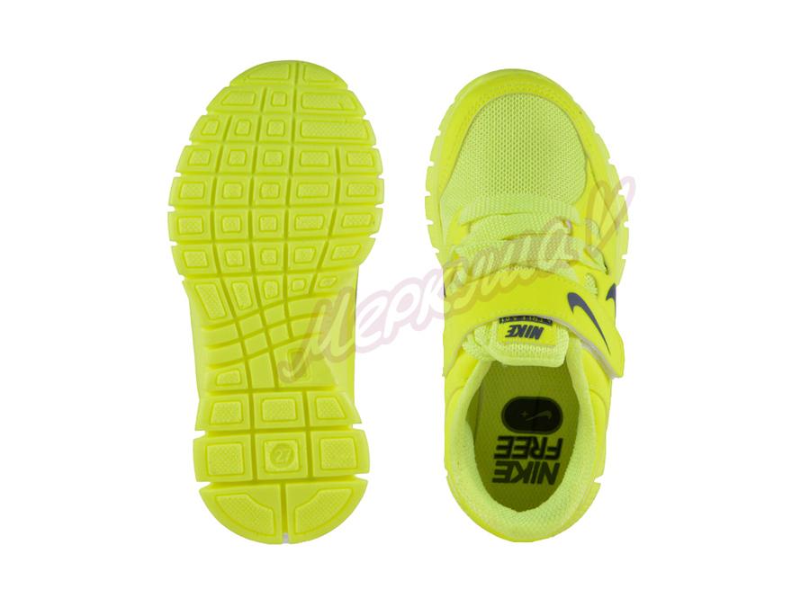 Кроссовки NIKE 2602-5, жёлтый
