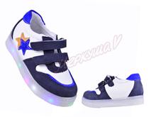 Кроссовки Panda orthopedic 6360-59-57-247, белый/синий