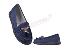 Мокасины ZS2816-6, синий