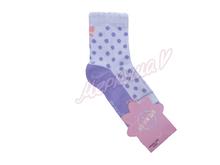 Носочки 3-10076 Горох , фиолетовый