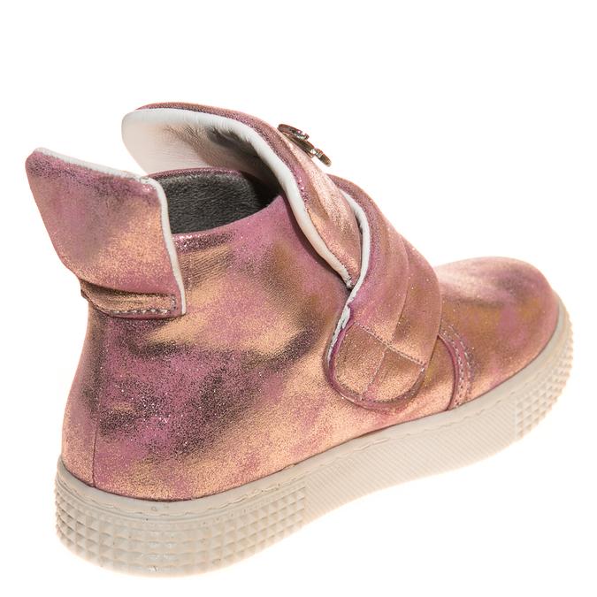 Ботинки д/с 1824(12) розовое зол (31-36)