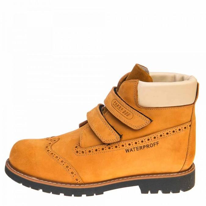 Ботинки д/с 001510(094)рыжий нубук (26-30)