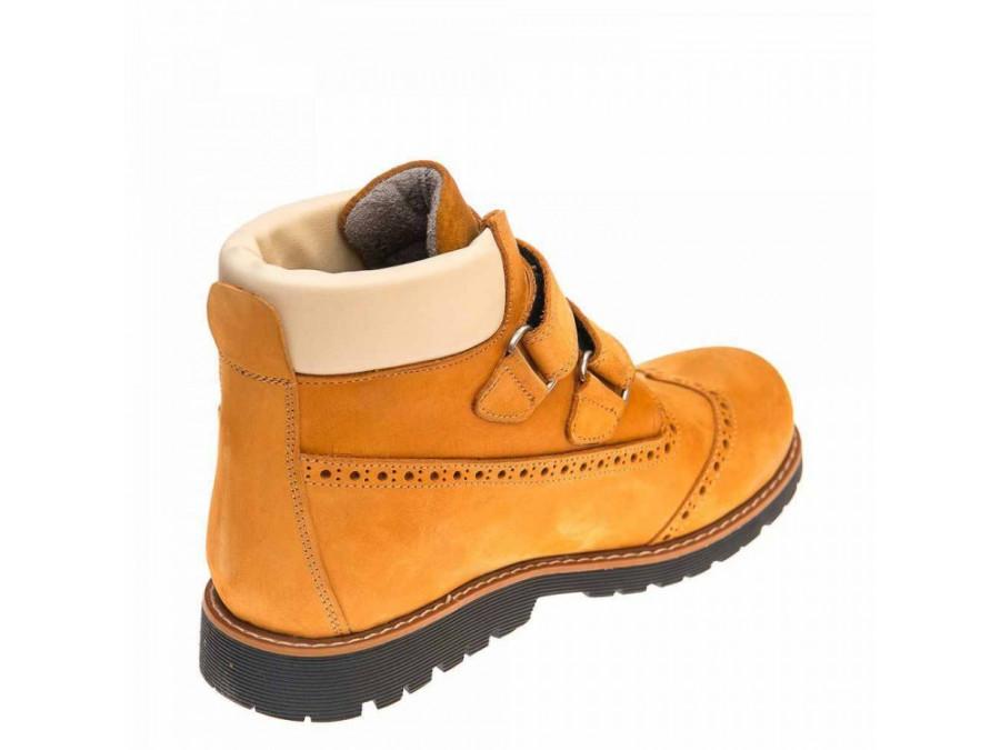 Ботинки д/с 001510(094)рыжий нубук (31-36)