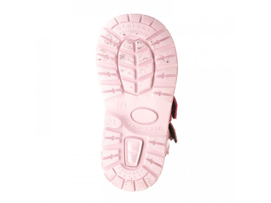Ботинки д/с 075B(6)роз..кожа (21-25)