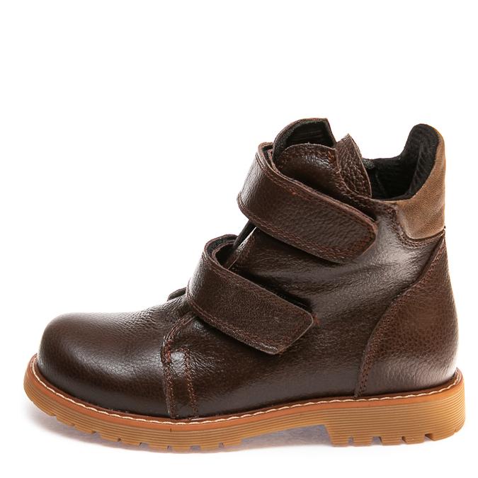 Ботинки д/с 075F(4)корич.кожа(31-36)