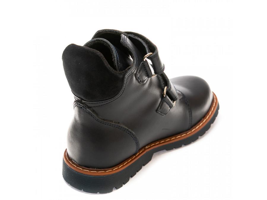 Ботинки д/с 075P(5)син.кожа (26-30)