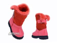 Ботинки зима 1300(76) рыжие