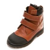 Ботинки зима 214F(058)рыжие(31-36)