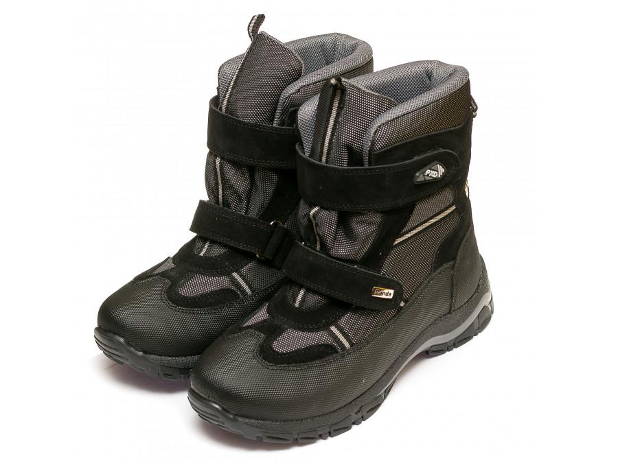 Ботинки зима Panda 329(2)черн.(37-40)