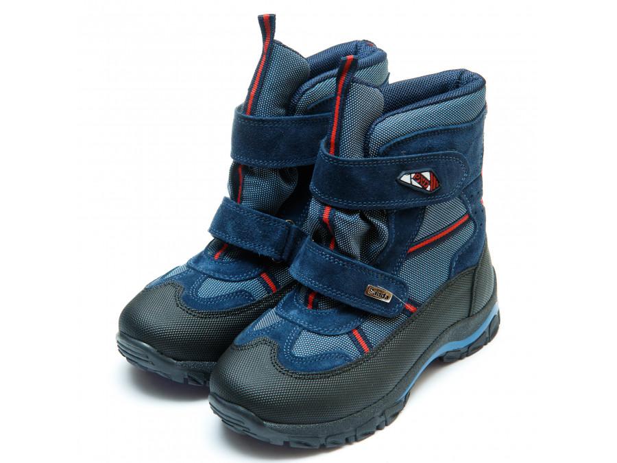 Ботинки зима Panda 329(3)синие(31-36) PN