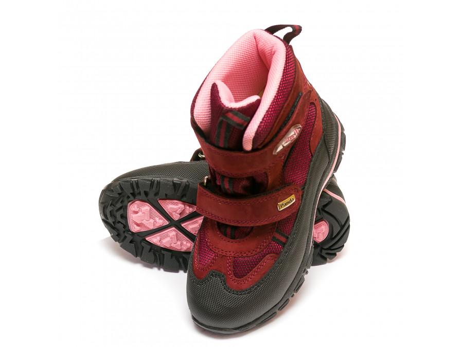 Ботинки зима Panda 329(5)бордо(31-36)
