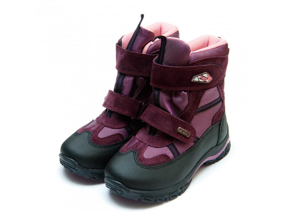 Ботинки зима Panda 329(7)сирень(31-36) PN