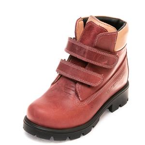 Ботинки д/с 370P(39-101)кожа слива(26-30)