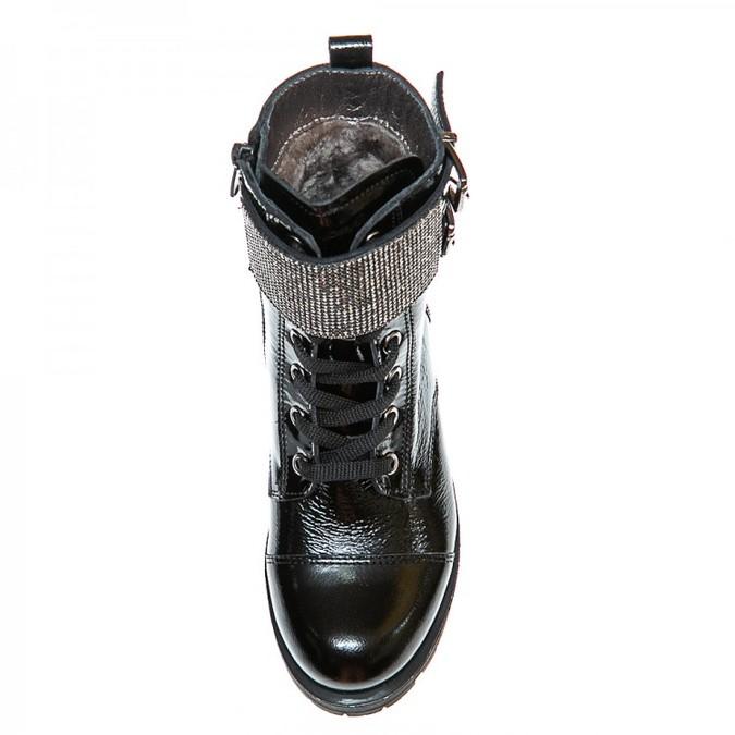 Ботинки зима 38145(12)лак(31-36)