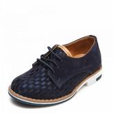 Туфли 3522-1 синяя замша (22-25)