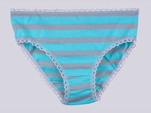 Трусики  BM40 Цветные полосы, голубой