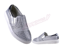 Туфли ZH17911-26, серебристый